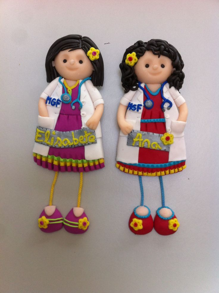 Bonecas do 1069, bonecas medicas em fimo