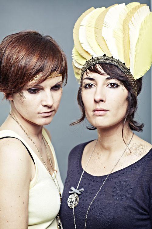 ANDROMAKERS / Photo de Presse  DA, stylisme, coiffure, accessoire & maquillage > Christine Massy WAF!  Photo / Retouches >Laetizia Bazzoni