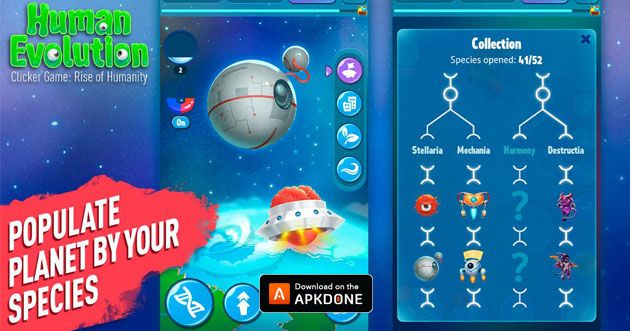 Human Evolution Clicker Game Mod Apk 1 7 11 Download Unlimited