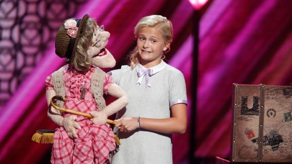 The votes are in, and your America's Got Talent season 12 champion is...Darci Lynne Farmer! The 12-year-old won the night with her incredible singing ventriloquist act, bringing  her puppet, Petunia, back Wednesday for a performance of Anything You Can Do (I Can Do Better) with fellow ventriloquist Terry Fator, who won season 2 of America's Got Talent.