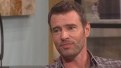 "Scott Foley Discusses Scandal & The Goodwin Games  Scott Foley talks with Billy Bush and Kit Hoover about getting the role of Jake Ballard in ""Scandal."" Also, he chats about the awkward moment of watching his steamy ""Scandal"" love scene with co-star Kerry Washington and his real life wife in the same..."