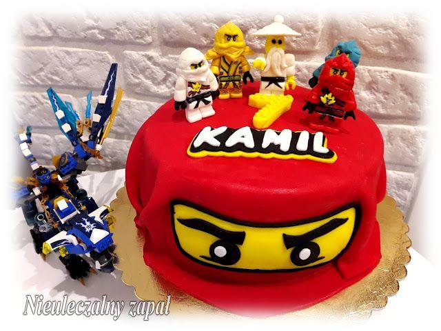 Nieuleczalny zapał-Torty w stylu angielskim: Tort Lego Ninjago