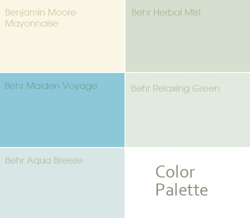 Calming Colors That Will Perfect Your Home: Cool And Relaxing Color Palette