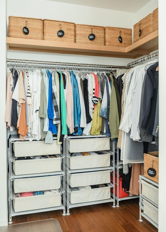 衣替えがラクに、服を収納しやすいケースの選び方 - 北欧、暮らしの道具店 koromogae_DSC_8540