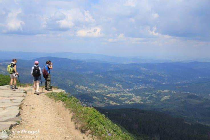 W drodze z Babiej Góry na Markowe Szczawiny