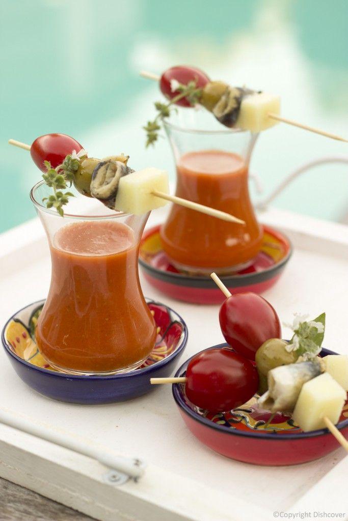 gazpacho Spaanse soep