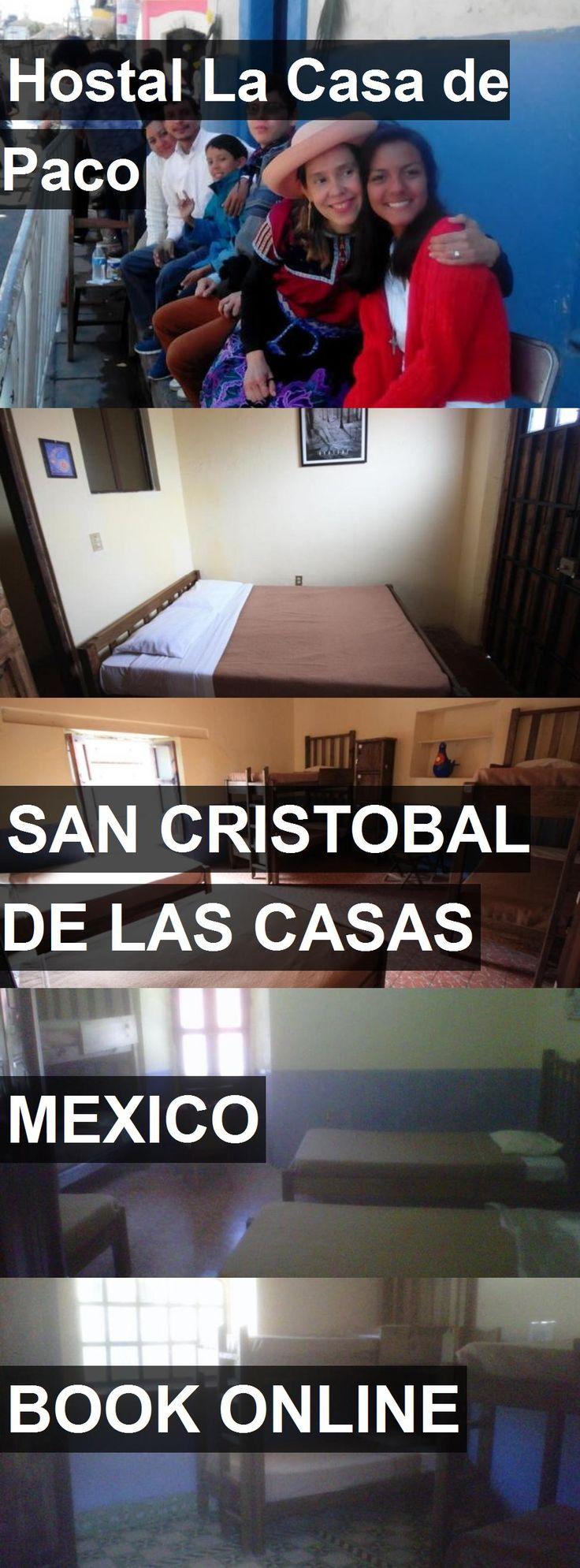 Hotel Hostal La Casa de Paco in San Cristobal de las Casas, Mexico. For more information, photos, reviews and best prices please follow the link. #Mexico #SanCristobaldelasCasas #HostalLaCasadePaco #hotel #travel #vacation