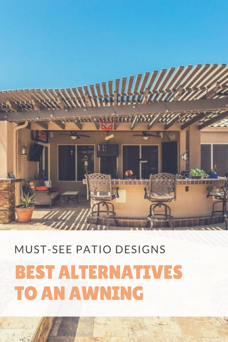 Check Out The Modern Trends For Patios And Alternatives To The Traditional Fabric Awning Awning Patio Designs Patioid Patio Design Fabric Awning Awning