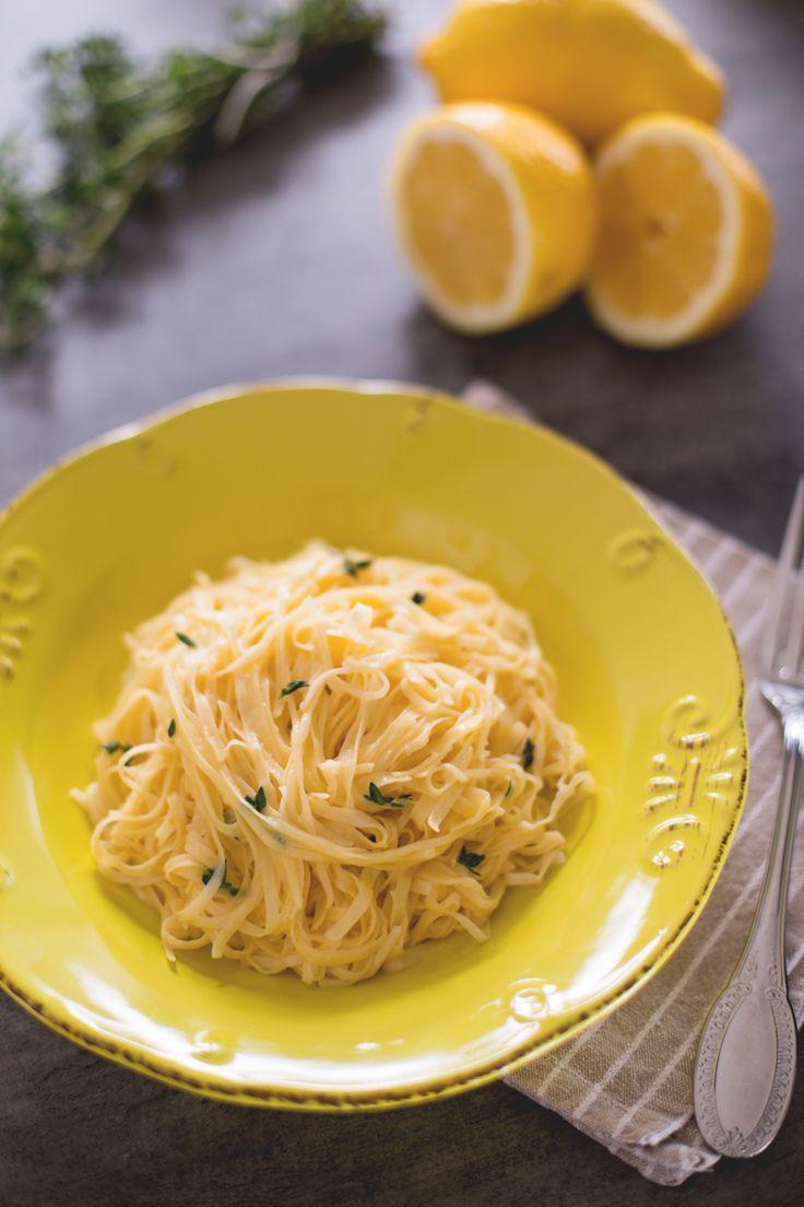 Preparate la #pasta fresca, saltatela velocemente nel condimento agrumato e…