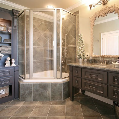 Shower Tub Combo Design, Pictures, Remodel, Decor and Ideas - page 3