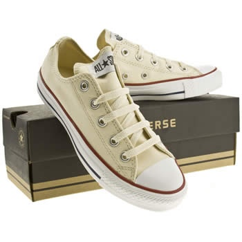 converse chucks beige/cream