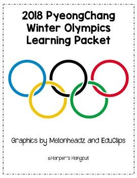 Let's get ready to watch the 2018 Winter Olympics in PyeongChang! This is the perfect classroom set to do just that. Enjoy 21 pages of Winter Olympic activities to use in your class. This bundle includes: -PyeongChang information sheet -Olympic Rings information sheet -Olympic Torch information sheet -Word Scramble -Reading Log -Alphabetical Order -If I won a gold medal writing prompt -Word Search -Write the Room -My Favorite Winter