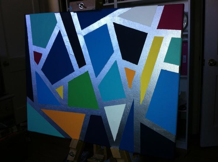 Straight Line Modern Art : Pin by jodie burke on put it canvas pinterest