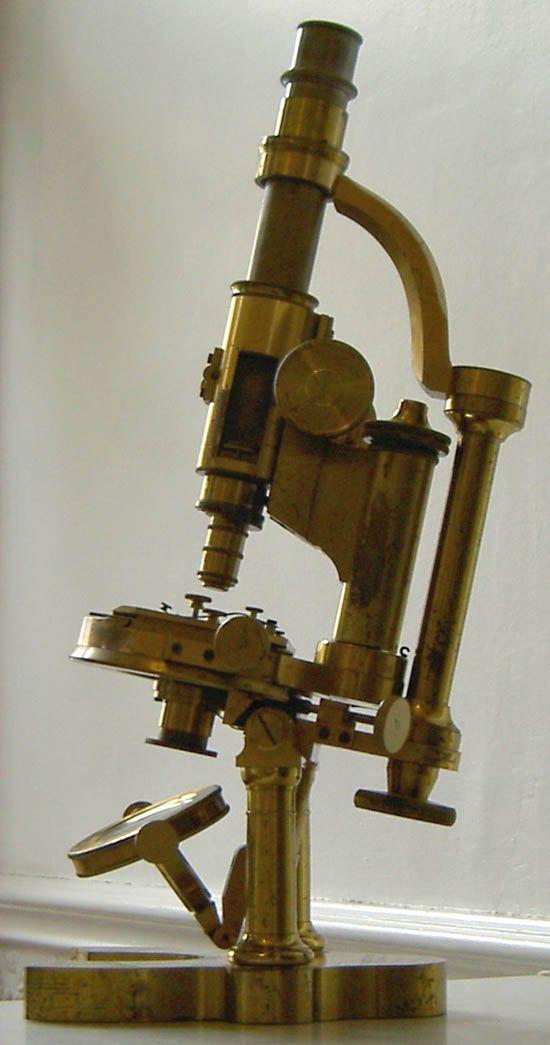 Polarizing microscope, Nachet, Paris