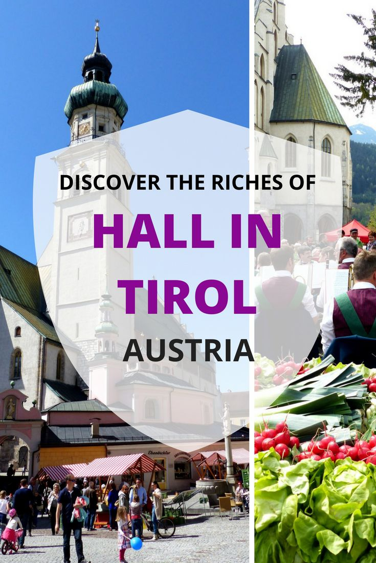 The Austrian town of Hall in Tirol is everything you expect from a former medieval economic hub. Read all about the narrow cobblestone streets,a castle, beautiful old churches next to market squares, and an impressive defense tower in the biggest historic old town in Tyrol.