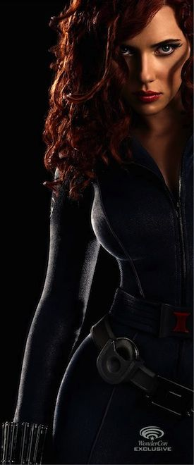 Scarlett Johannson - Black Widow ღ♥Please feel free to repin ♥ღ www.unocollectibles.com