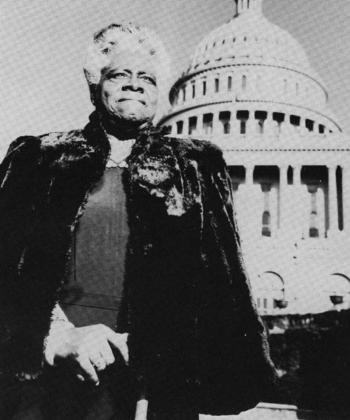 """Mary McLeod Bethune - 1875 - 1955 EDUCATOR AND CIVIL RIGHTS LEADER  Founder of the National Council of Negro Women, she served as an adviser to FDR on his """"black cabinet"""" and promoted the education of African-American youth."""