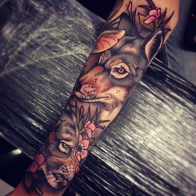 Wolf Sleeve | Tom Bartley
