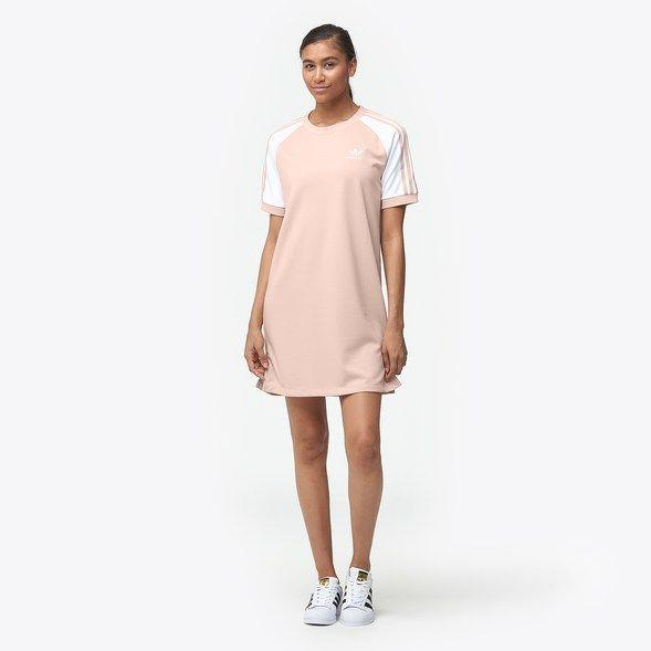 adidas Originals Adicolor 3 Stripe Raglan Dress Women's