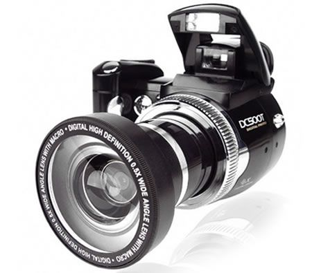 This camera has totally cool design and function!