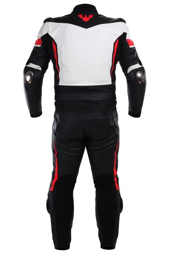 Leather overalls ARAGON | PSí Hubík #white #red #black #motowear #psi #psihubik #leather #overalls #aragon #kombi #kombineza