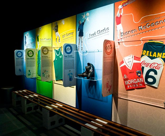 GAA-My GAA Hero Exhibition   New temporary exhibition space for kids at the GAA Museum, Croke Park   Designer: Creative Inc.   Image 4 of 9