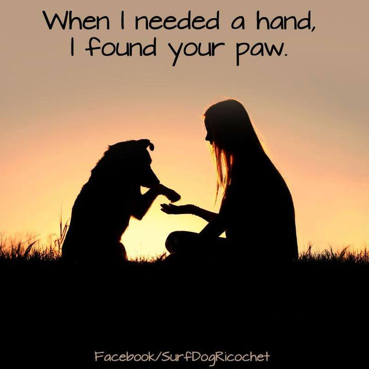 When I needed a hand...