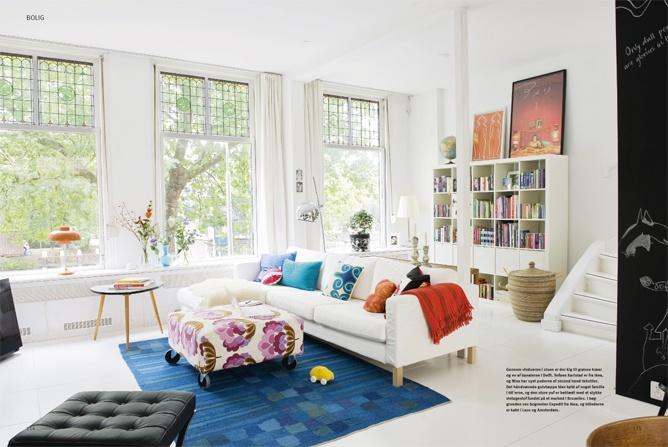 La maison d'Anna G.: Inspiration colorée: Interior Design, Living Rooms, Window, Danish Bedrooms, Livingroom, Apartment Living