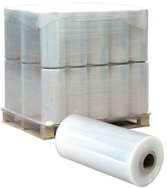 "Machine Pallet Wrap Stretch Film 20"" x 80ga x 5000' (40 Roll / PL) FREE Shipping #ClingTitePalletStretchWrap"