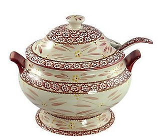 temp-tations Soup Tureen   QVC