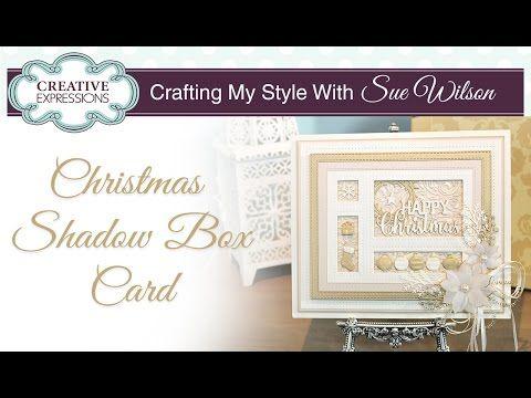 Christmas Shadow Box Card