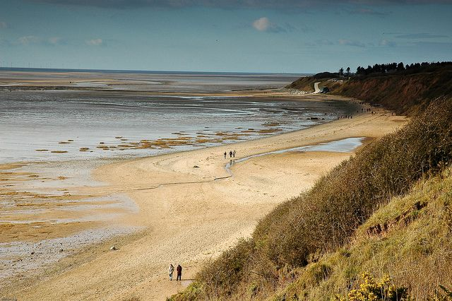 Thurstaston Beach, Wirral, England  by w777, via Flickr