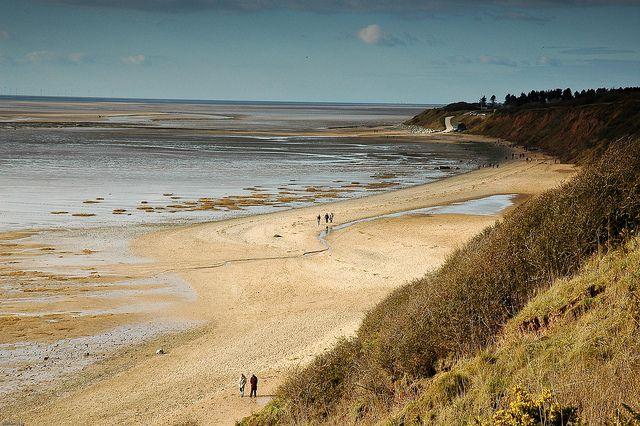 Thurstaston Beach, Wirral, England  by w777, via Flickr