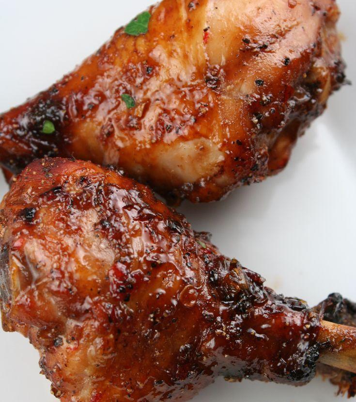 Sweet Chili Glazed Chicken...