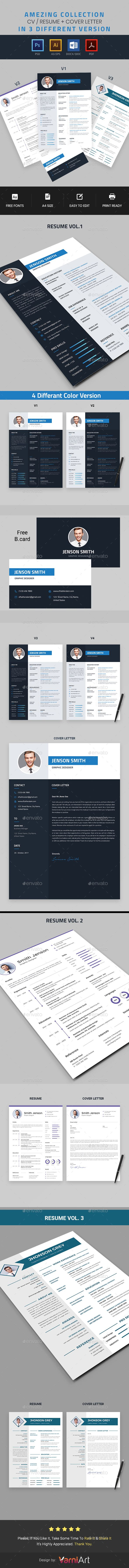 These Clean Resume Templates are professionally organized