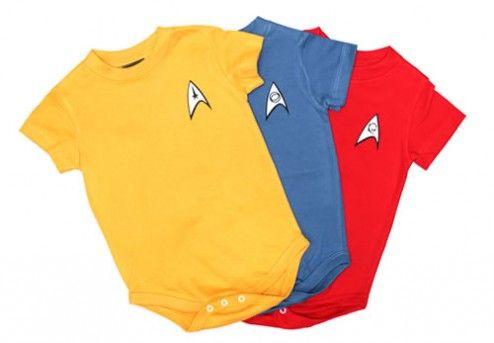 Star Trek Baby | Baby Star Trek Uniformen