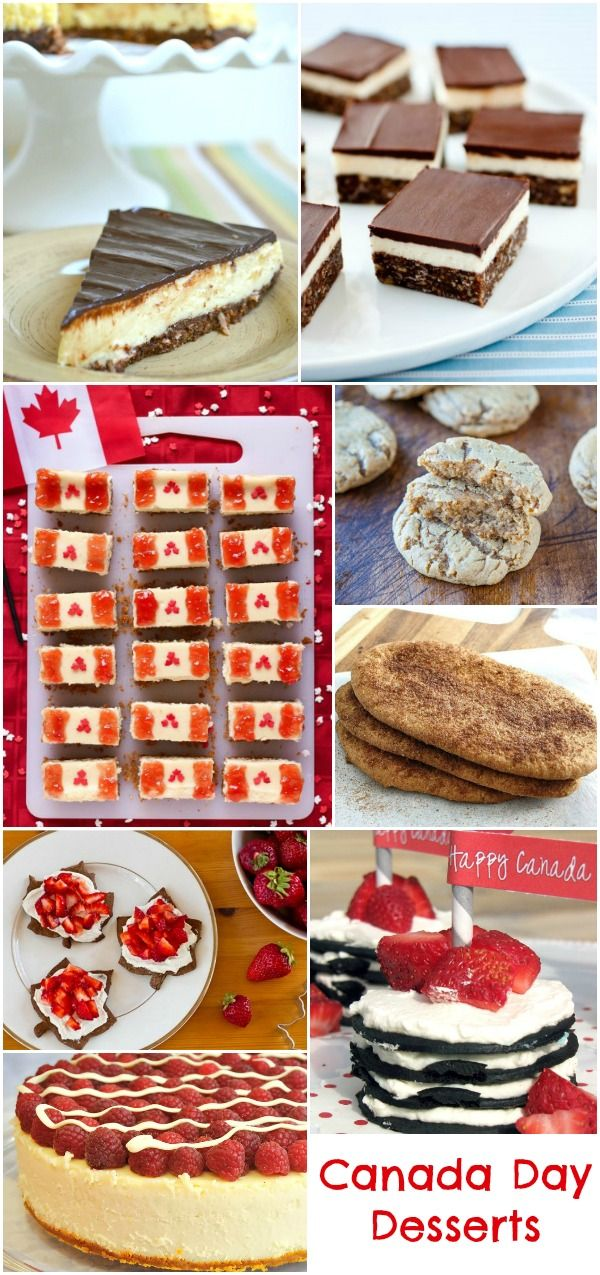 Fun Canada Day sweets and treats for the perfect picnic! // Des gourmandises sucrées et rigolotes qui égayeront vos pique-niques du 1er juillet.