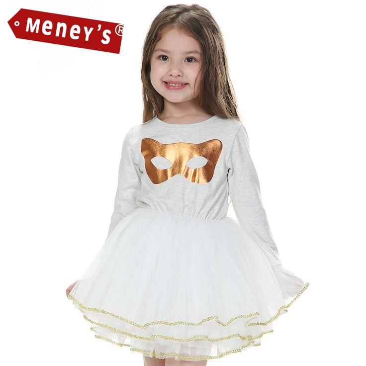 21.99$  Watch here - http://alixu7.shopchina.info/go.php?t=32599567101 - Fashion Girls Baby Tutu Dress Children Ball Gown Wedding Lace Toddler Princess Dresses Mask Cat Gold Ballet Kids Dresses Meney's 21.99$ #shopstyle