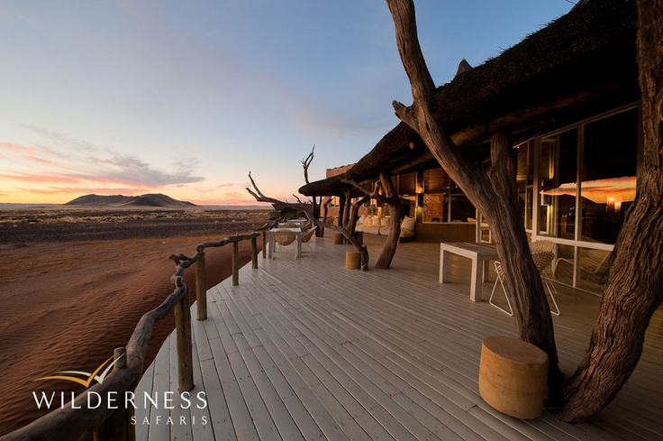 Little Kulala - The overall mood and feel is cool, serene, organic and sheltering. #Safari #Africa #Namibia #WildernessSafaris