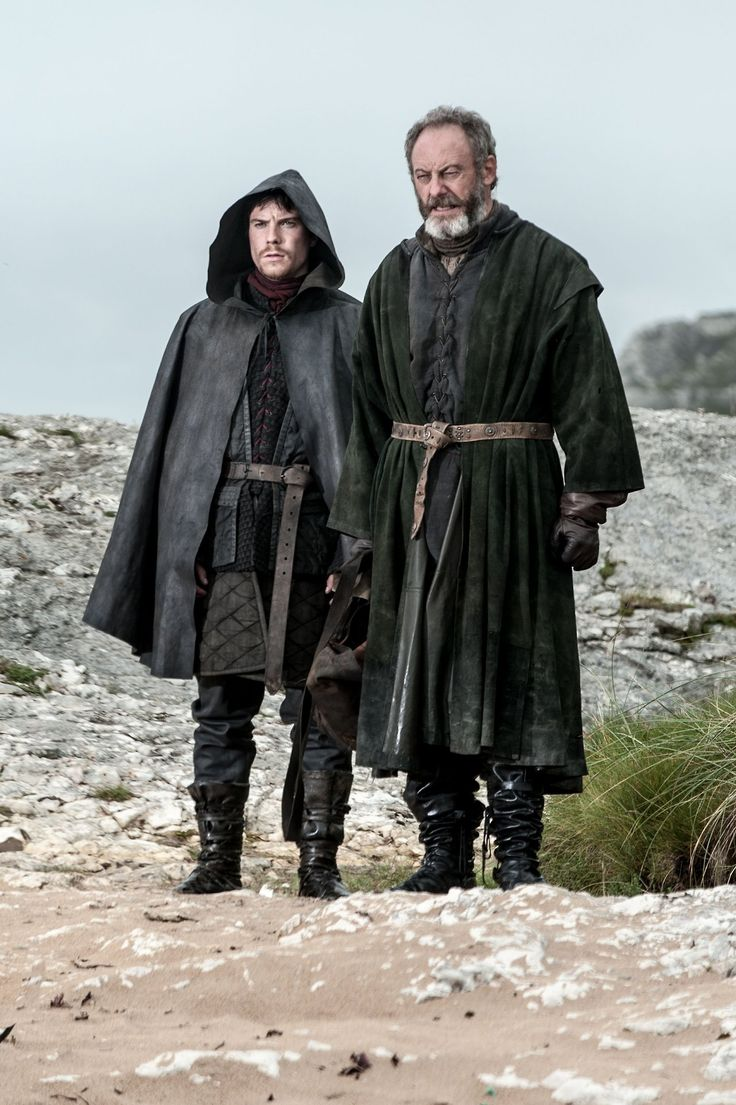 """the onion Knight and Gendry, """"I am, too from flea bottom"""""""