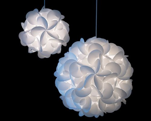 Home lighting - three of these together in the a corner would look quite cool