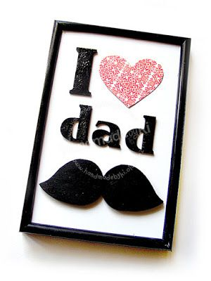 HANDMADE by Ki: I love dad ...
