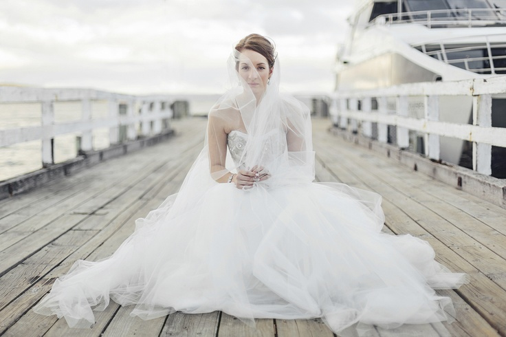Elaine   Peppermint Bay Wedding Tasmania, dress by Karen Willlis Holmes, Photography by Michelle Dupont