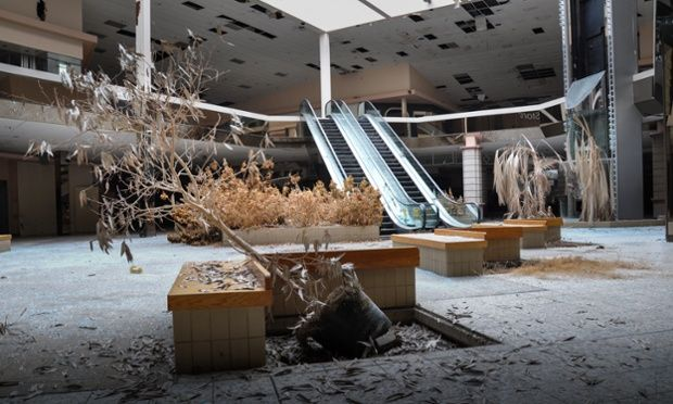 """""""The death of the American mall"""""""