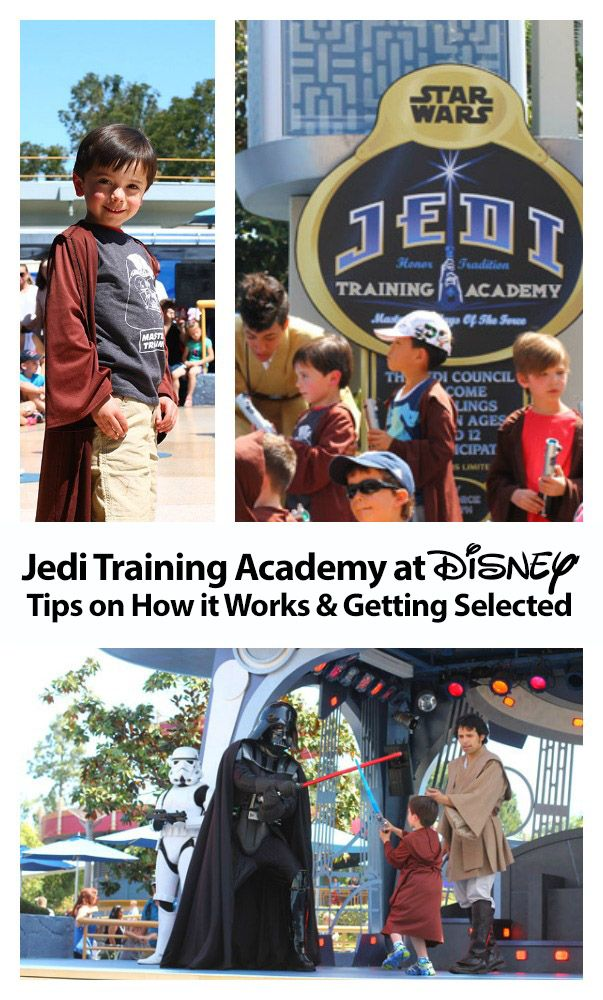 If you have a Star Wars fan, be sure to do the Jedi Training Academy at Disneyland/Disney World. It is every Padawan's dream to fight Darth Vader or Darth Maul. Learn how the 20-minute show works and tips for getting selected.