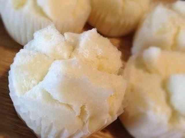 即でき‼簡単卵なし基本蒸しパン♪の画像