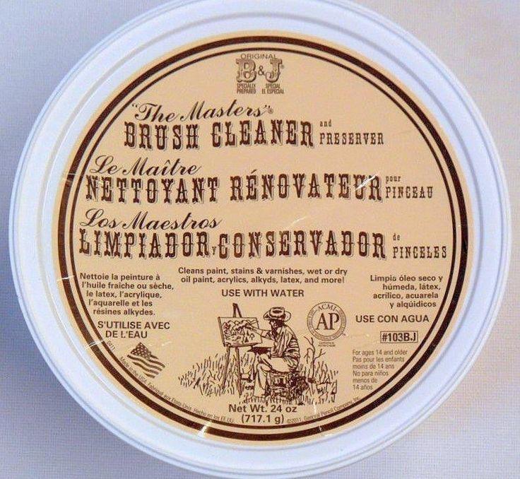 The Masters Brush Cleaner #Künstlerseife #Pinselreiniger 680 g