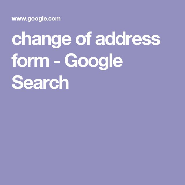 Best  Change Of Address Ideas Only On   Address