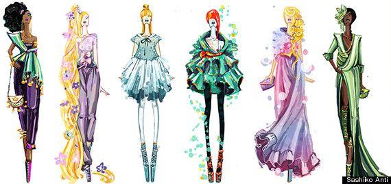 disney haute couture