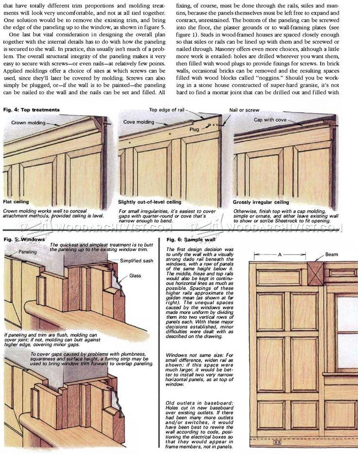 Wood Wall Paneling - Wainscoting and Paneling